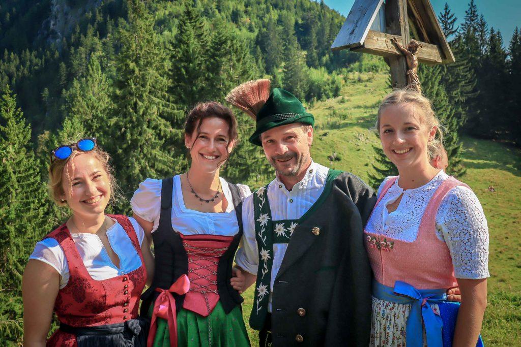 Familie Buhl von der Strausbergalpe